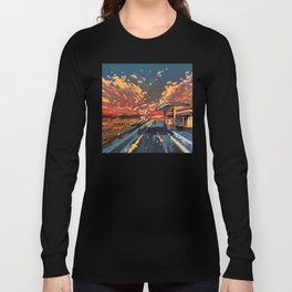 american landscape 7 Long Sleeve T-shirt