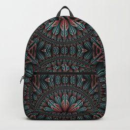 Fantasy flower and petals IV Backpack