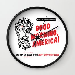 Good Morning, America! Wall Clock