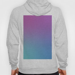 SUPERSTITION FUTURE - Minimal Plain Soft Mood Color Blend Prints Hoody