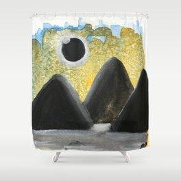 Solar Eclipse Dreams Shower Curtain
