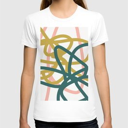 Abstract Lines 02A T-shirt