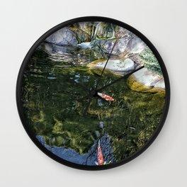 Reflecting Pond Wall Clock