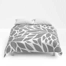 Bloom - Gray Comforters