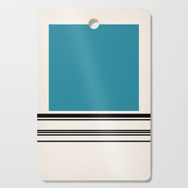 Code Teal Cutting Board
