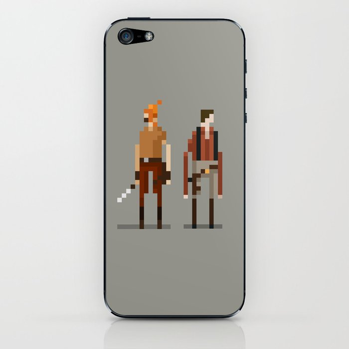 Brains and Brawn iPhone Skin