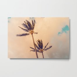 Palms Away - Study 3 Metal Print