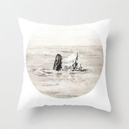 GHOST SHIP III Throw Pillow