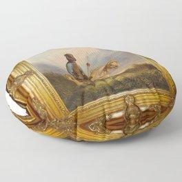 Framed Chief Pachycephalosaurus Floor Pillow