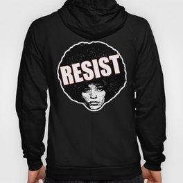 Angela Davis - Resist (black version) Hoody