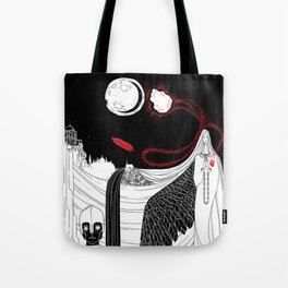 Catalyst Moon Incursion Tote Bag