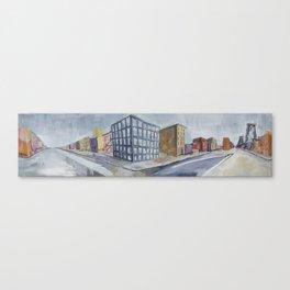Urban Panorama II Canvas Print