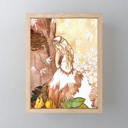 Autumn Whispers Framed Mini Art Print