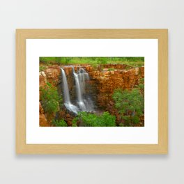 The Grotto is flowing Framed Art Print