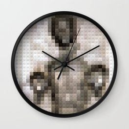 Legobrick Han Solo in Carbonite Wall Clock