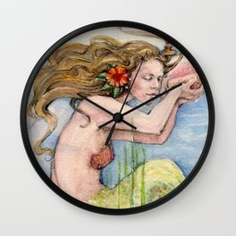 Song of the Sea Wall Clock