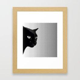 Panther Breath Framed Art Print