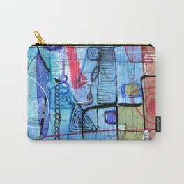 Open Abstract 1 Carry-All Pouch