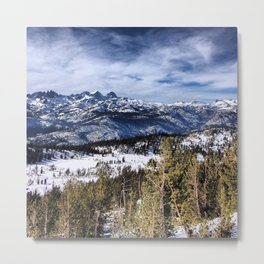 The Minarets, Sierra Nevada Mountains Metal Print