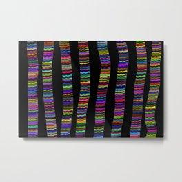 stripe pattern Metal Print