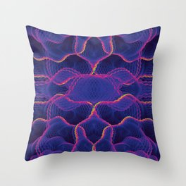 Fractal 7 Throw Pillow