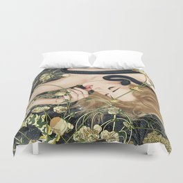 You Will Not Surely Die Duvet Cover