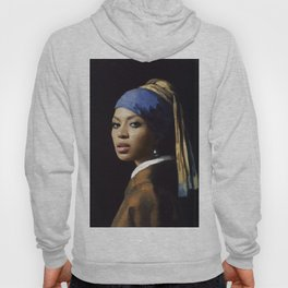Bey with a Pearl Earring Hoody