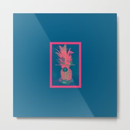 Pineapple Express //Alternate One Metal Print