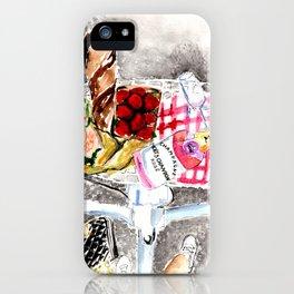 Picnic in Paris iPhone Case