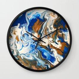 Heartfelt Chip Wall Clock