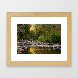 Away From It All - Devils Den State Park Framed Art Print
