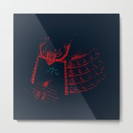 Secrets of the Samurai Metal Print