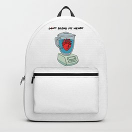 Don't blend my heart Backpack