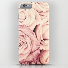 Some people grumble I Floral rose roses flowers pink Slim Case iPhone 6s Plus