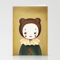 lucy Stationery Cards featuring Lucy by The Midnight Rabbit