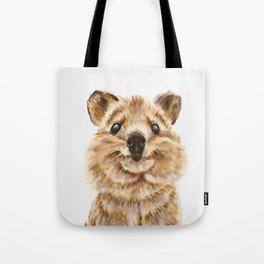 Quokka, the happiest animal on Earth Tote Bag