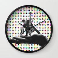 dancing Wall Clocks featuring Dancing by Cs025