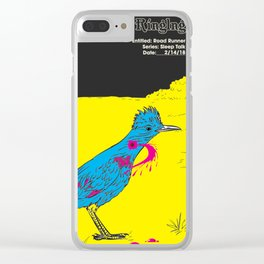 Road Runner Clear iPhone Case