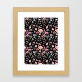 Wilderness Pattern Framed Art Print