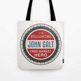 Free Market Hero Tote Bag