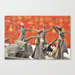 dancing in style Canvas Print