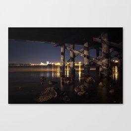 Under The Bridge // 1 Canvas Print