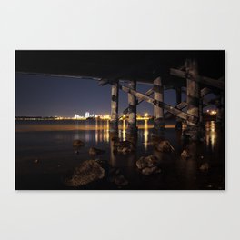 Under The Bridge // 1 Canvas Print