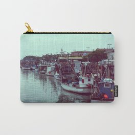 Boats in the blue lagoon Carry-All Pouch