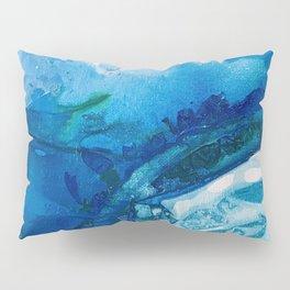 Deep Blue Ocean Life Pillow Sham