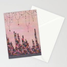 Traveling Skyline Stationery Cards