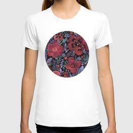 Dark Velvet Floral T-shirt
