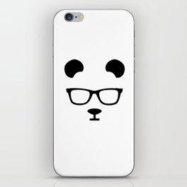 Nerd Panda iPhone Skin
