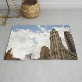 Over New York City Rug