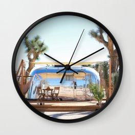 Airstream, Joshua Tree Acres 2 Wall Clock